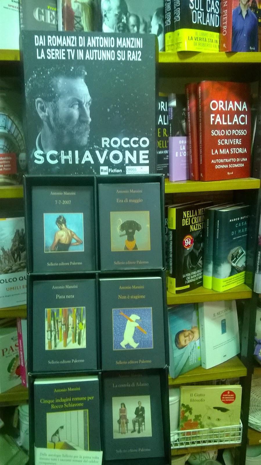 La Libreria Il Calmaio promuove Manzini, Sellerio
