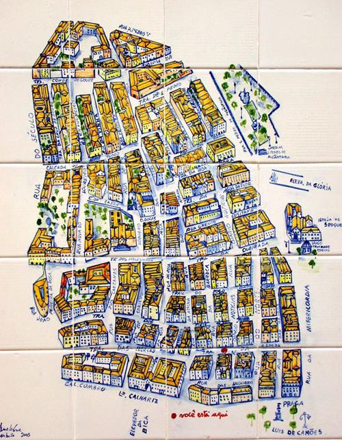 mapa do bairro alto lisboa Le Cool Lisboa || repositório: MAPAS de Lisboa mapa do bairro alto lisboa