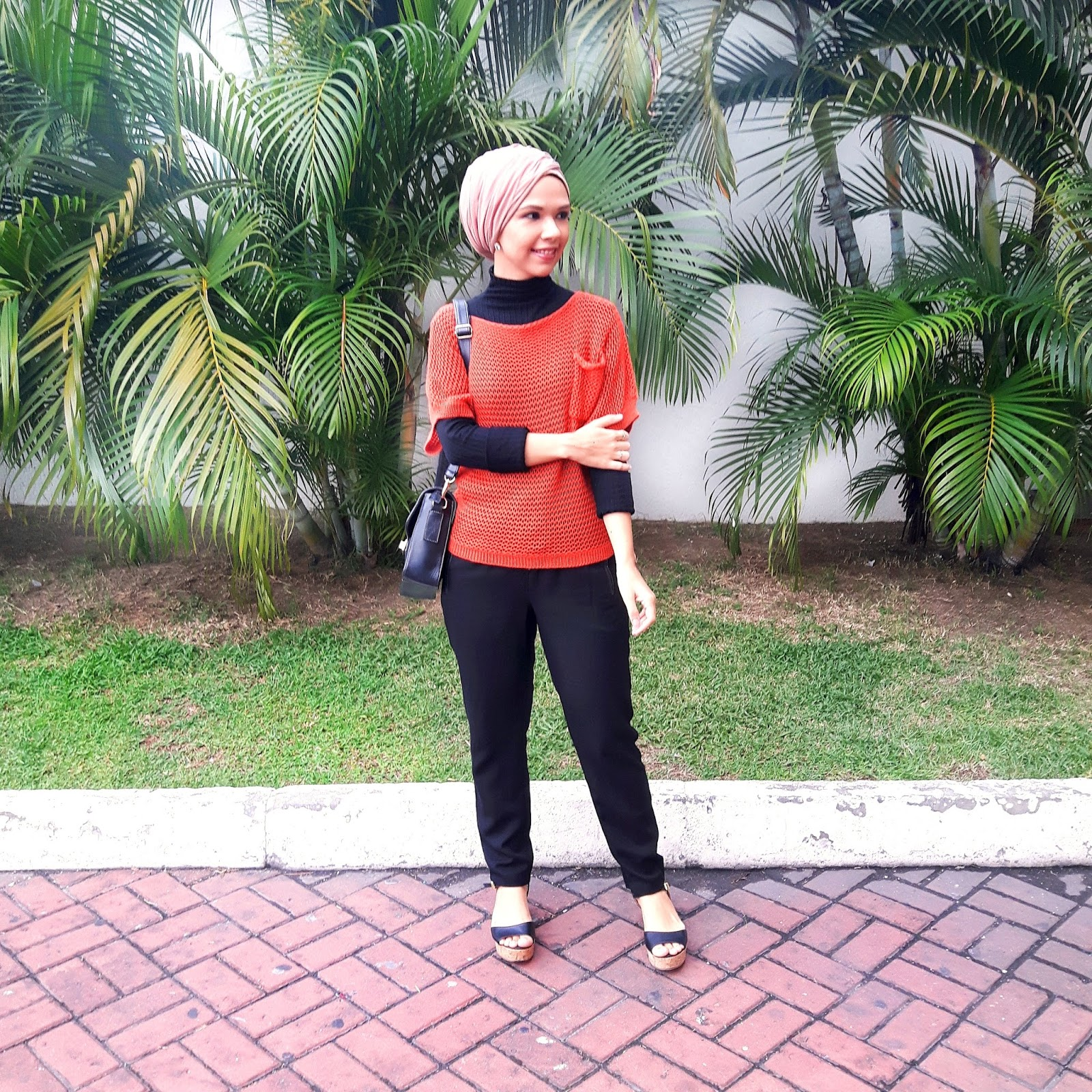 ootd, hijab, turban, modest fashion