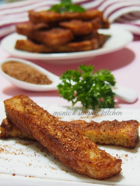 resep cinnamon french toast stick
