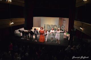 Únicas Teatro Stella d'Italia Divina Valeria Montevideo Uruguay