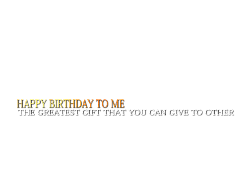 New Birthday Quotes and stylish text PNG 2015