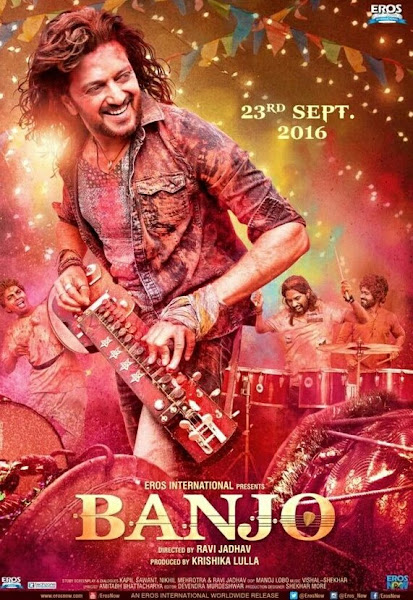 Poster Of Banjo 2016 720p Hindi HDRip Full Movie Download