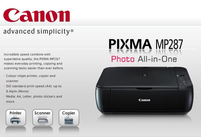 5 Cara Mengatasi Tinta Hitam Tidak Keluar Pada Printer Canon Mp287