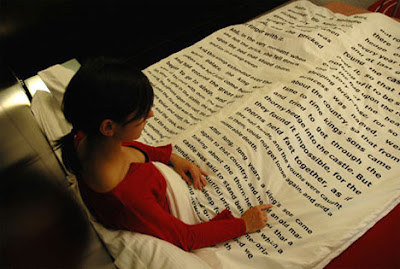 Leer un buen libro antes de dormir