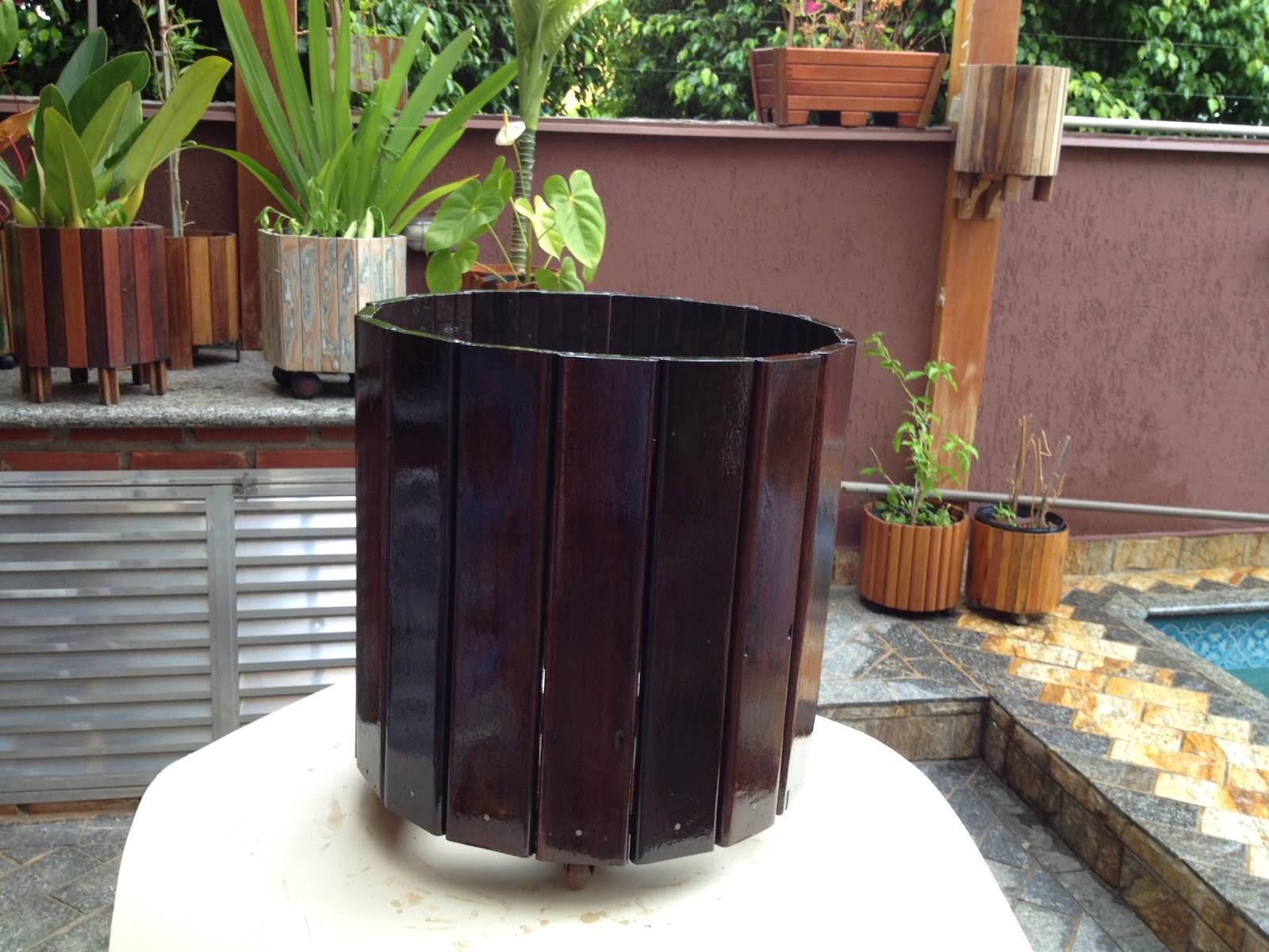 Atelier do Zero  Vaso Grande feito de Itaúba ff0a1bae71