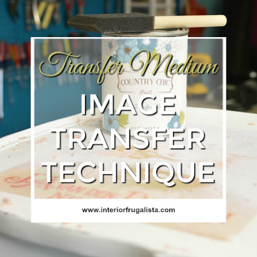 Image Transfer Technique With Transfer Medium