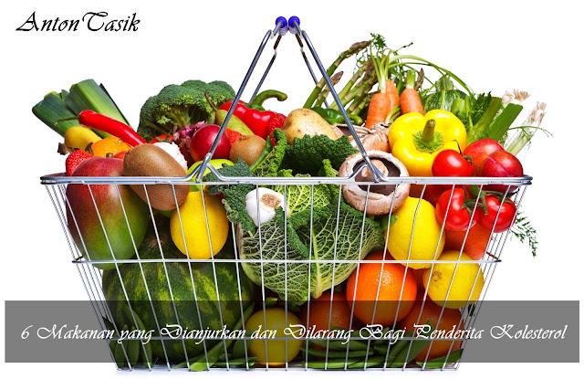 6 Makanan yang Dianjurkan dan Dilarang Bagi Penderita Kolesterol