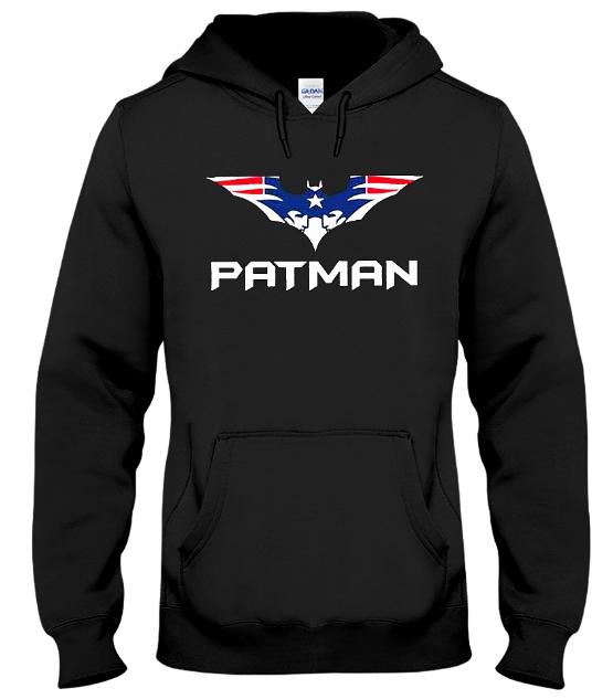 Patman Pat Man Hoodie Sweatshirt