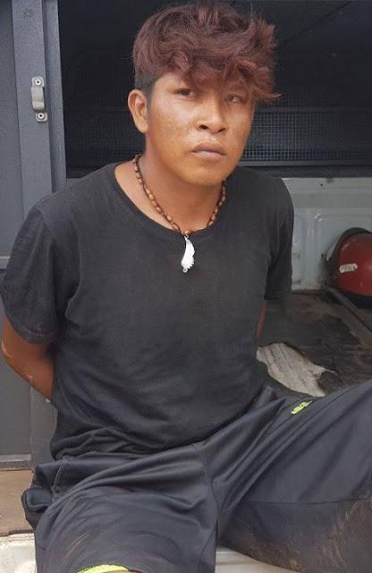 Líder da quadrilha de índios que fazem assaltos na BR-226 é preso em Barra do Corda-MA