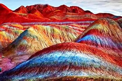 Indahnya Wisata Alam Gunung Pelangi Sangat Menakjubkan, Yang Berkaitan Dengan Al-Qur'an
