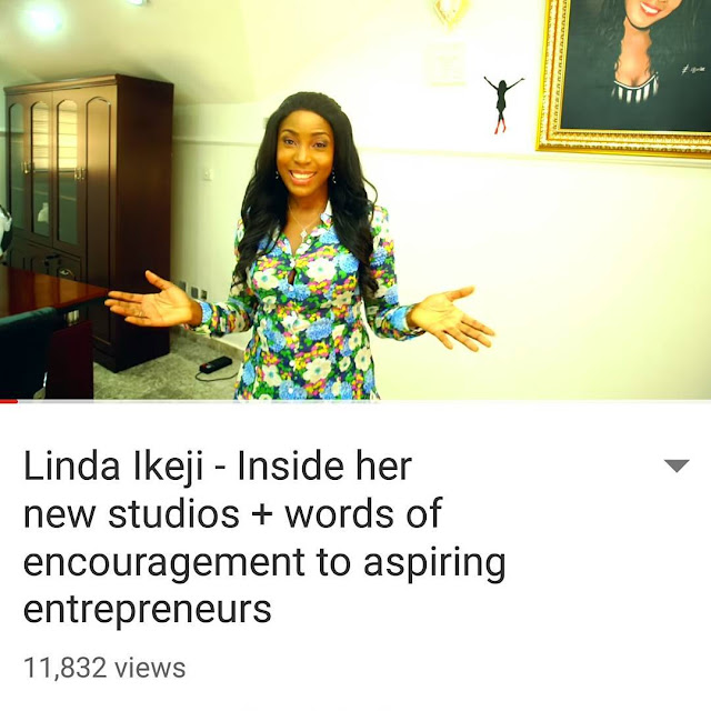 Lindaikeji's office complex