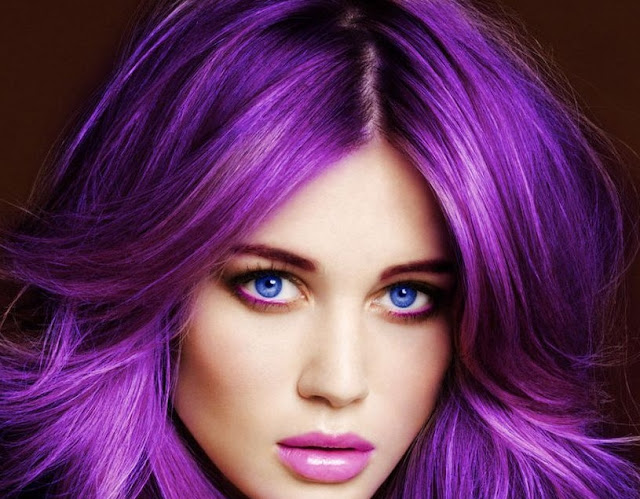 purple hair color
