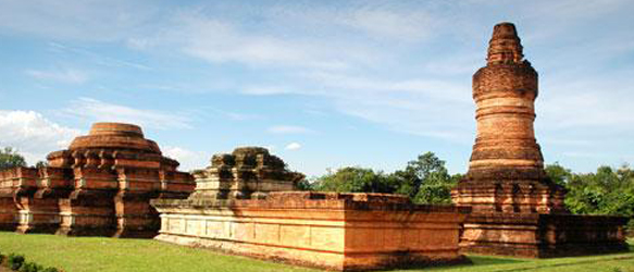 A Visit to the Temple of the Kingdom Sriwijaya, Muara Takus