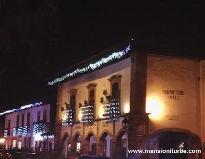 Christmas in Pátzcuaro: Hotel Mansión Iturbe