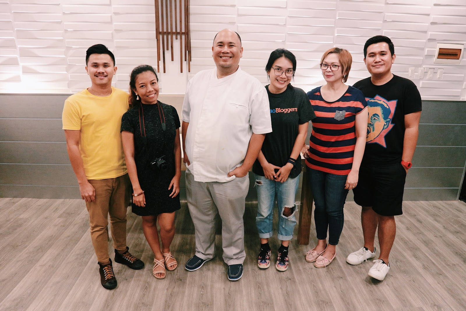 Davao Bloggers Society with Chef Tatung Sarthou at Flavors of Asia