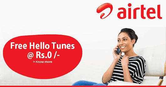Airtel Loot - Get Hello Tunes Service For 999 Days Absolutely Free