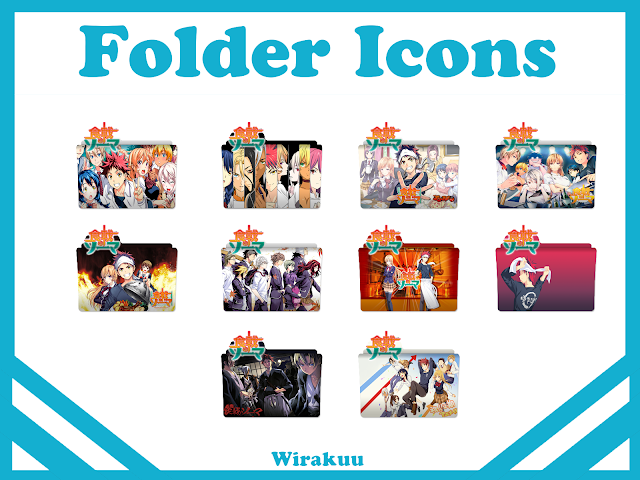 Free Icons Download Anime Shokugeki no Souma