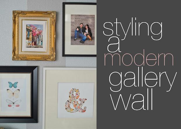 Domestic Fashionista Styling Modern Wall