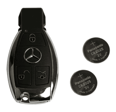 mercedes-bga-key-2-button