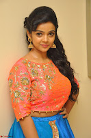 Nithya Shetty in Orange Choli at Kalamandir Foundation 7th anniversary Celebrations ~  Actress Galleries 029.JPG