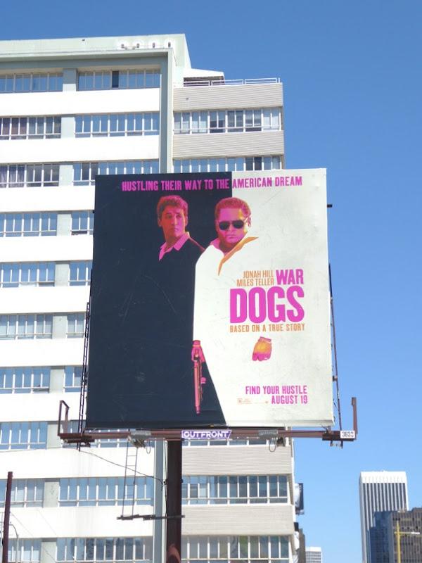 War Dogs movie billboard