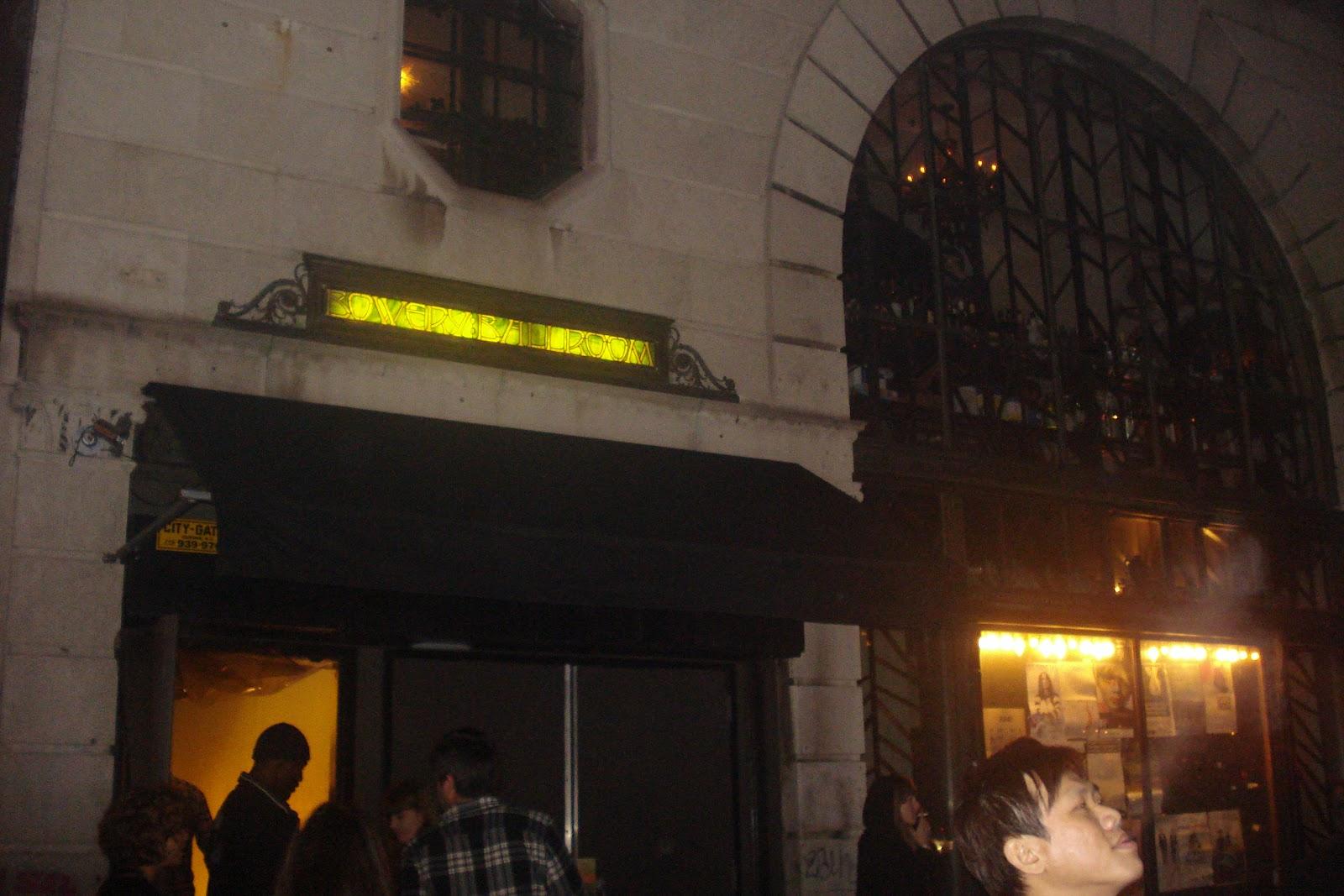 Bowery Ballroom NYC