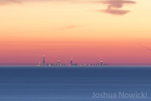Foto tirada pelo fotografo Joshua Nowicki de Chicago