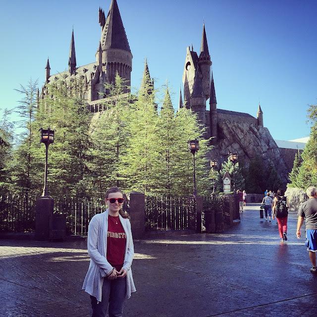 Hogwarts Castle in The Wizarding World of Harry Potter by freshfromthe.com