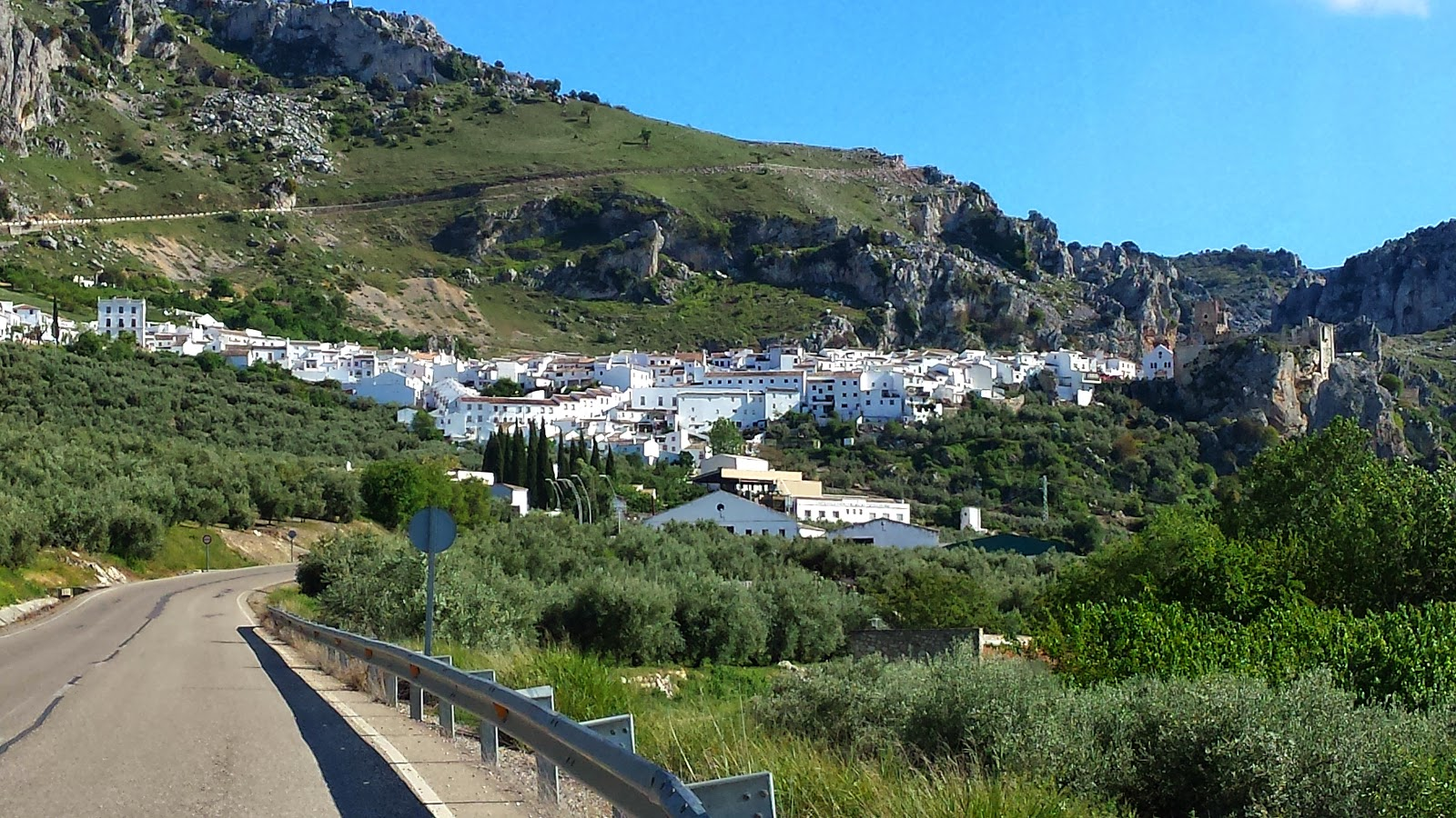 Zuheros, Andalucia is a perfect spot to stay on a Cycle Tour in Spain