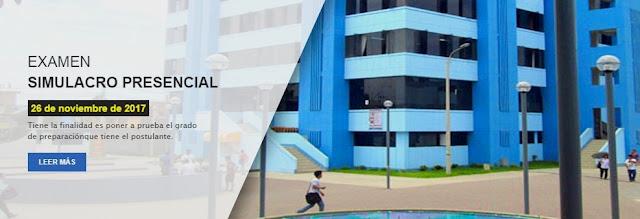 Simulacro Universidad del Callao 2017-II