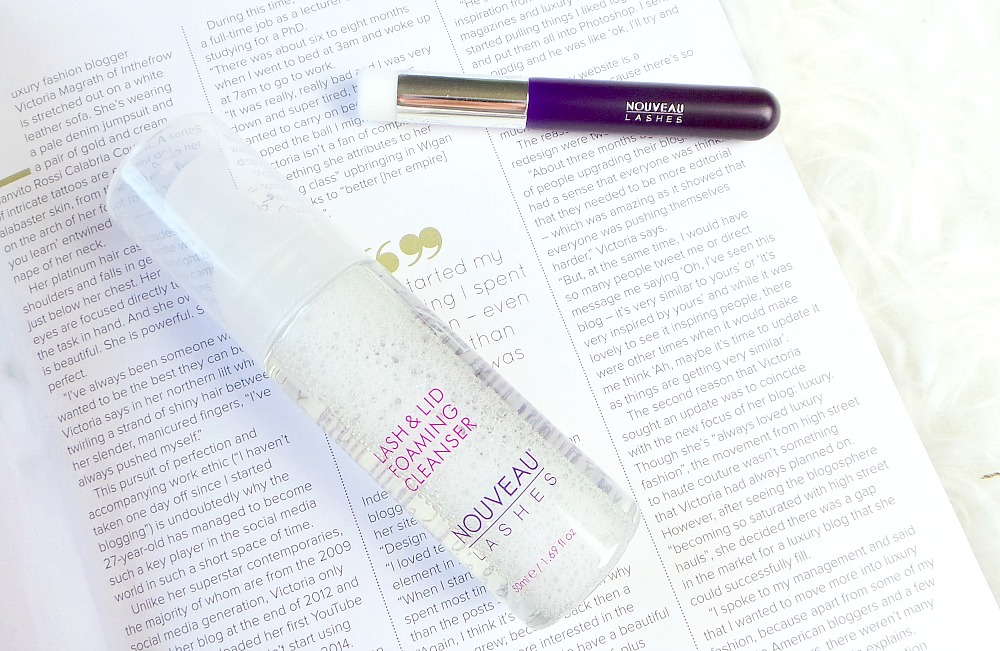 Nouveau Lashes Lash & Lid Foaming Cleanser