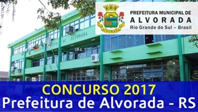 Concurso Prefeitura de Alvorada RS 2017