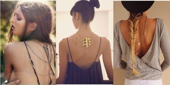 Back Necklace-colar nas costas-colares da moda-modelos de colares-tendência de moda-acessorios femininos-Volver Collar-Retour Collier-blog de moda e beleza