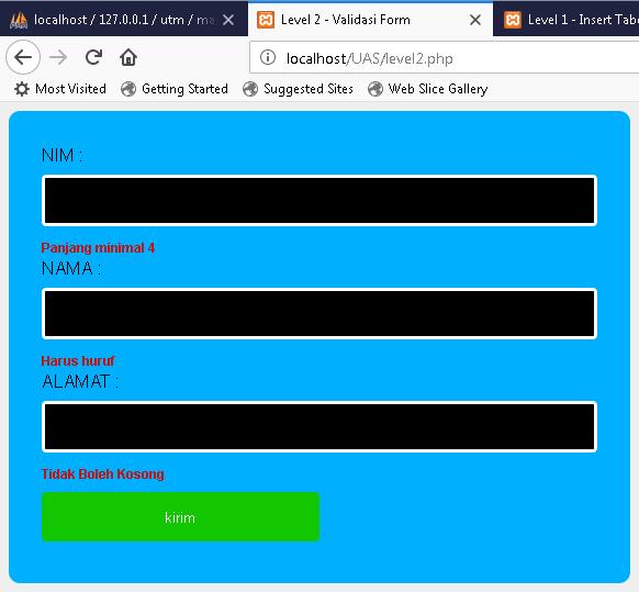Cara Membuat Form Input Data dan Form Pencarian Data Dengan PHP Dan MySQL