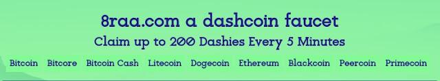 8raa free DashCoin Faucet