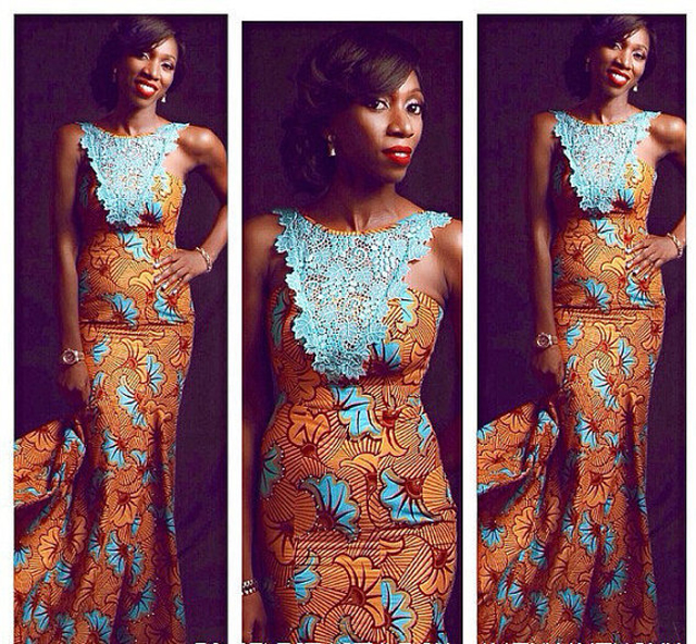 elegant african dresses for weddings