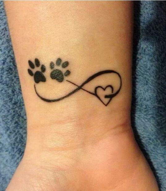 50 Infinity Symbol Tattoo Designs With Initials For Couples