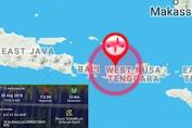 Lombok Diguncang Gempa 7 SR, Ini Area Dampak Guncangan