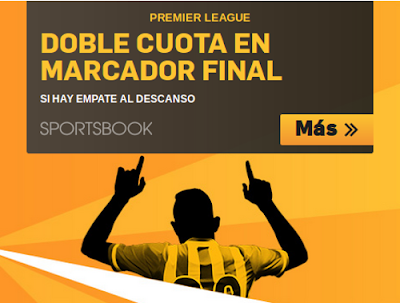 betfair doble cuota premier league 6-7 febrero