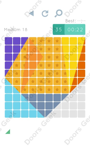 Cheats, Walkthrough for Blocks and Shapes Medium Level 18