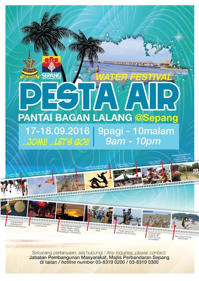 PESTA AIR PANTAI BAGAN LALANG 2016