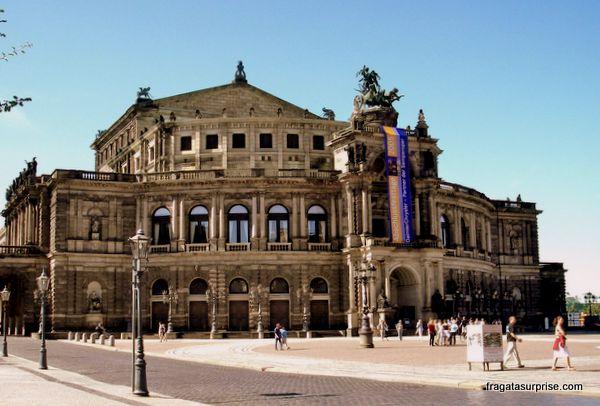 Semperoper, a Ópera de Dresden