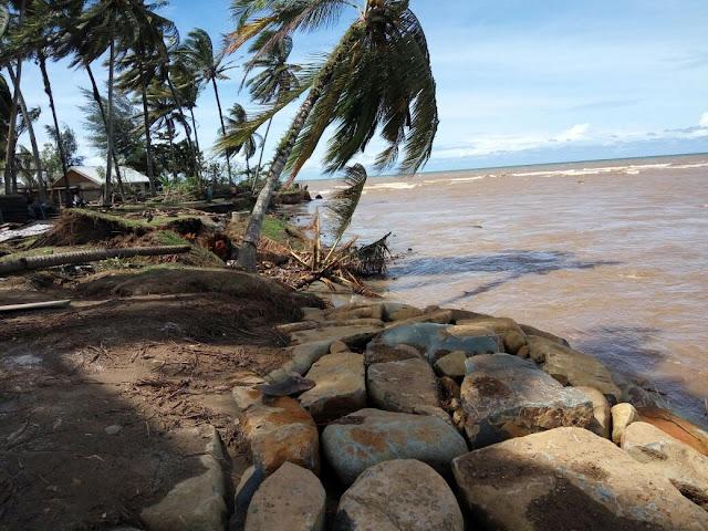 Balai Sungai, PSDA Sumbar dan Pemkab Pessel Keroyokan Tangani Abrasi Muara Kandis