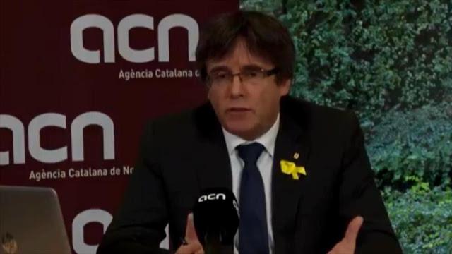 Puigdemont: Vale la pena ser investido antes de ser detenido
