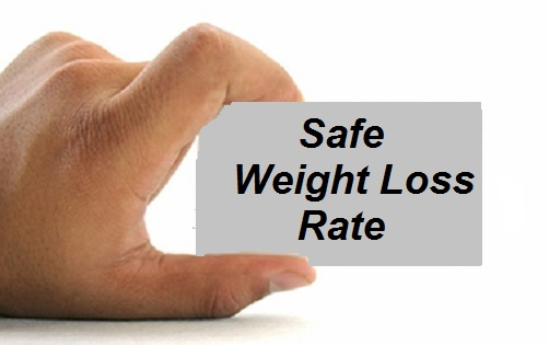 safe weight loss rate