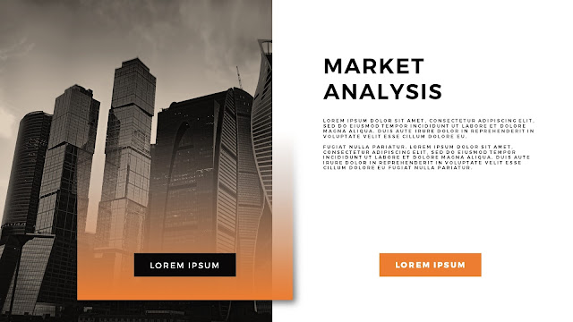 Free Charts And Analysis PowerPoint Template Slide Title