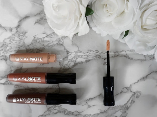THE STAY MATTE LIQUID LIP COLOUR COLLECTION BY RIMMEL LONDON