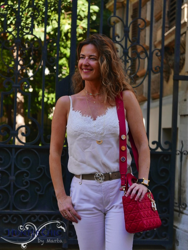marta halcon de villavicencio-hunterchic by marta-total look blanco-bloguer