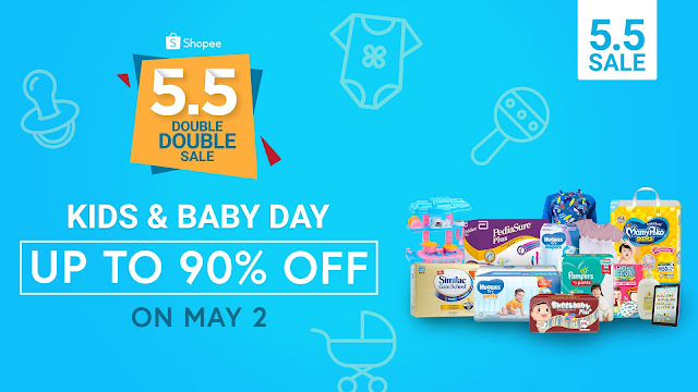 Shopee 5.5 Double Double Sale